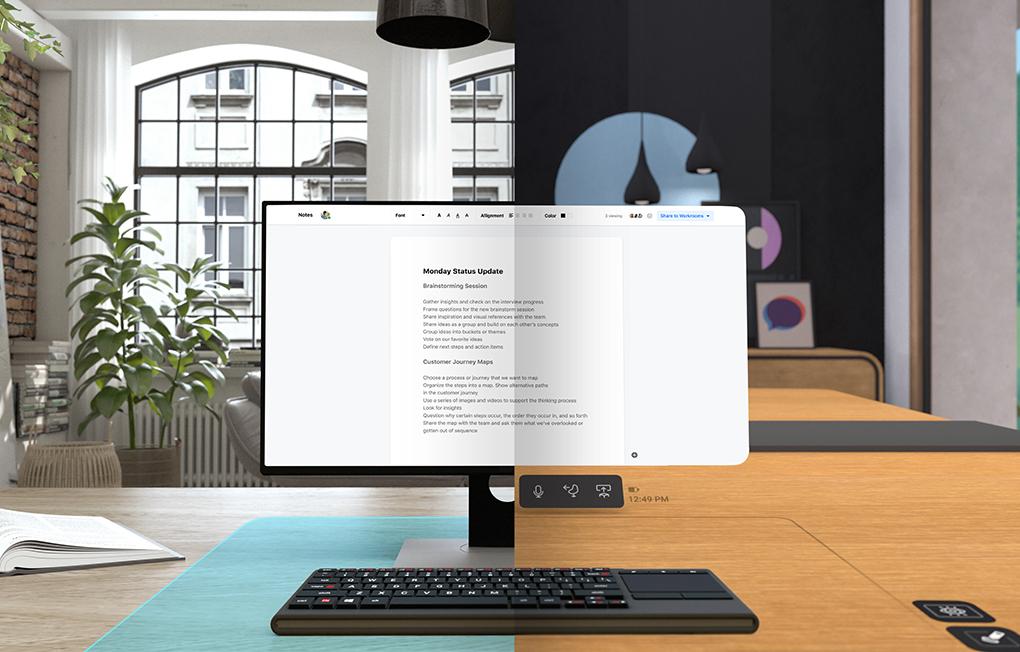 bureau virtuelle- workroom